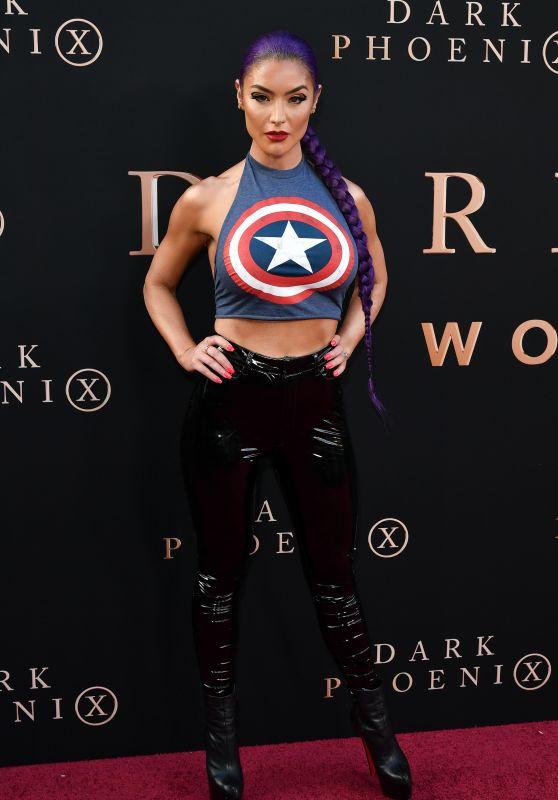 "Eva Marie – ""X-Men: Dark Phoenix"" Premiere in Hollywood"