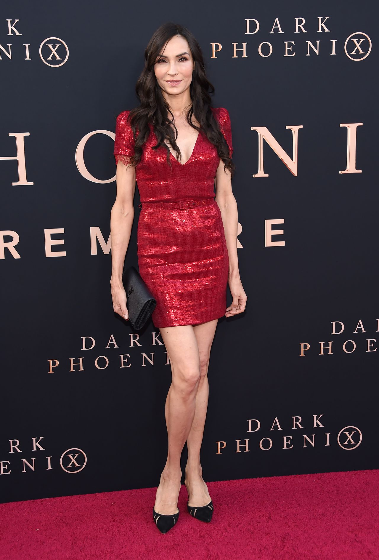 "Famke Janssen – ""X-Men: Dark Phoenix"" Premiere in Hollywood"