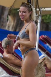 Gabby Allen on the Beach in Barbados 06/18/2019