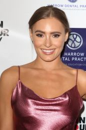 Georgie Clarke – Harrow Dental Practice x Brain Tumour Charity Gala Dinner in London 06/22/2019
