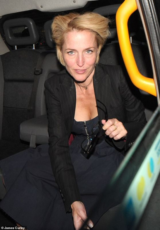Gillian Anderson - Out in London 06/24/2019