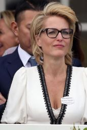 Gillian Anderson – The Royal Windsor Cup Final in Egham 06/23/2019