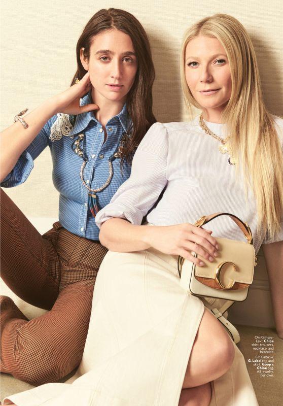 Gwyneth Paltrow and Natacha Ramsay-Levi - InStyle Magazine July 2019 Issue