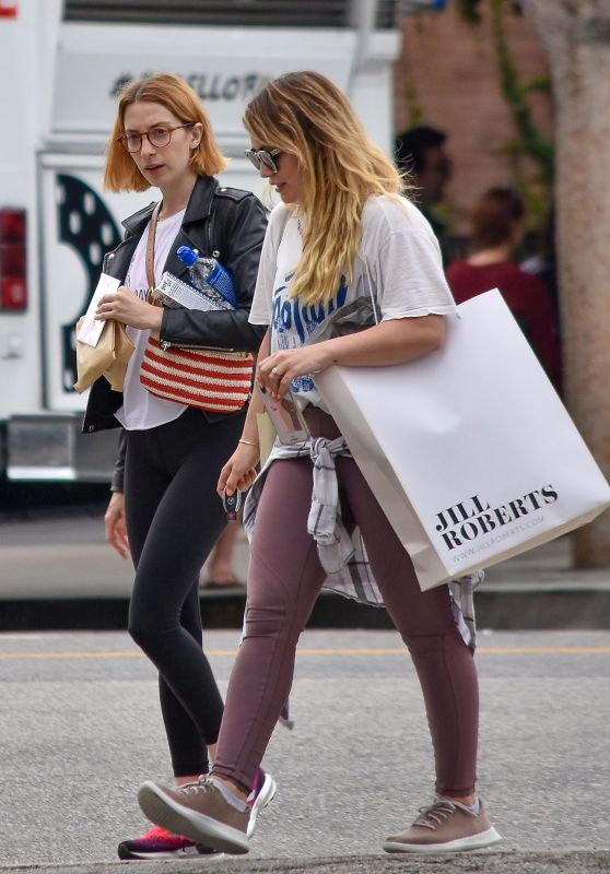 Hilary Duff - Shopping Trip in Studio City 06/18/2019