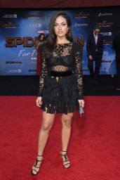 """Inanna Sarkis – """"Spider-Man: Far From Home"""" Red Carpet in Hollywood"""