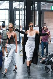 Irina Shayk and Stella Maxwell - Out in Florence 06/14/2019