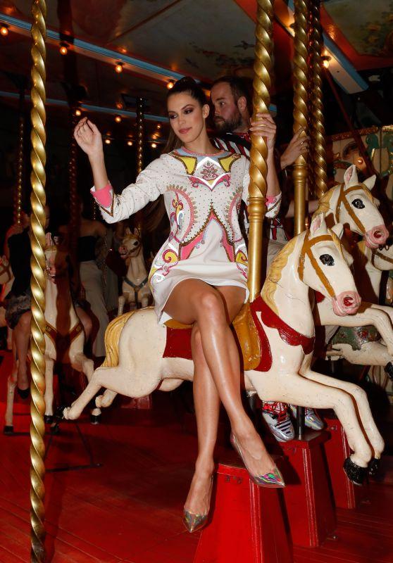 Iris Mittenaere - Loubicircus Party by Christian Louboutin, Paris Fashion Week 06/19/2019