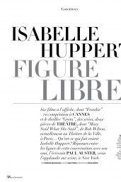 Isabelle Huppert - Madame Figaro 05/31/2019