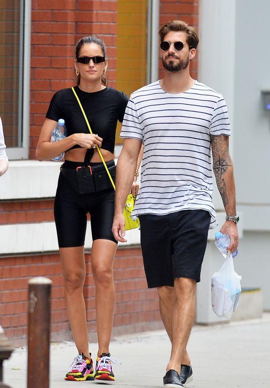 Izabel Goulart and Boyfriend Kevin Trapp - New York City 06/17/2019