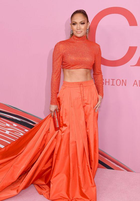 Jennifer Lopez – 2019 CFDA Fashion Awards in NYC