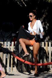 Jessica Aidi in Bikini on a Beach in Ibiza 05/27/2019