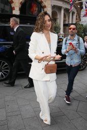 Jessica Alba - Arriving at Global Radio Studios in London 06/13/2019