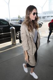Jessica Biel at LAX Airport in Los Angeles 06/12/2019