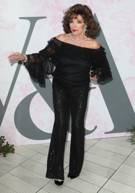 Joan Collins – V&A Summer Party in London 06/19/2019