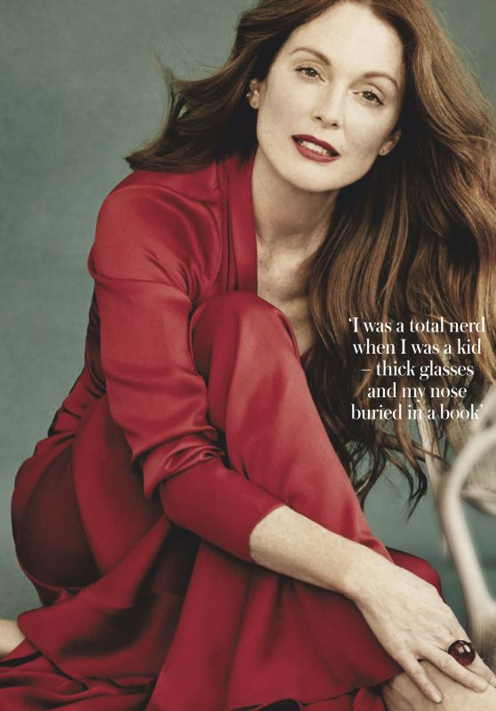 Julianne Moore - Woman and Home South Africa July 2019 Issue