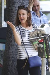 Juliette Lewis Street Style - Shopping in Los Angeles 06/07/2019