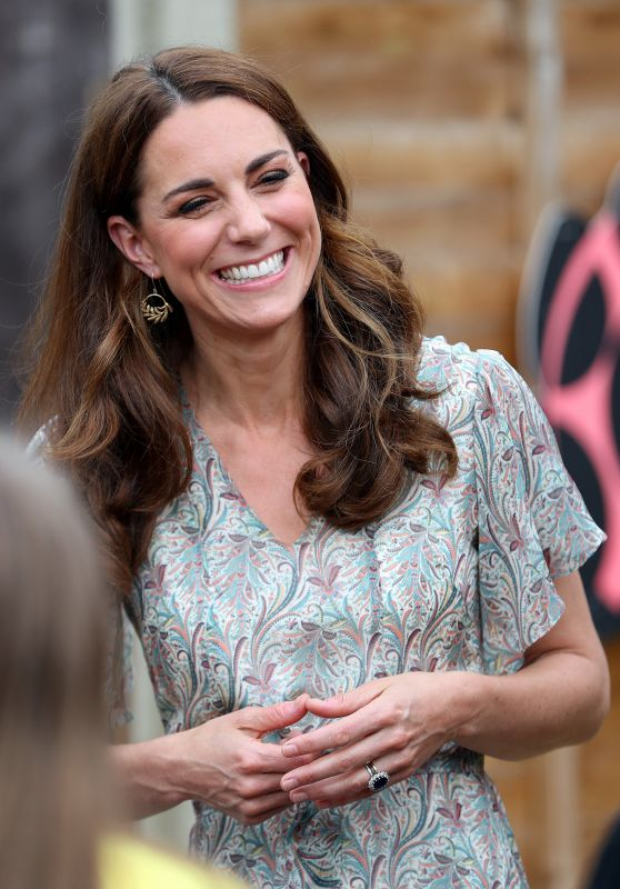 Kate Middleton - Joins a Photography Workshop for Action for Children in Kingston 06/25/2019