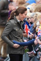Kate Middleton - Keswick Market Place at Cumbria in Keswick 06/11/2019