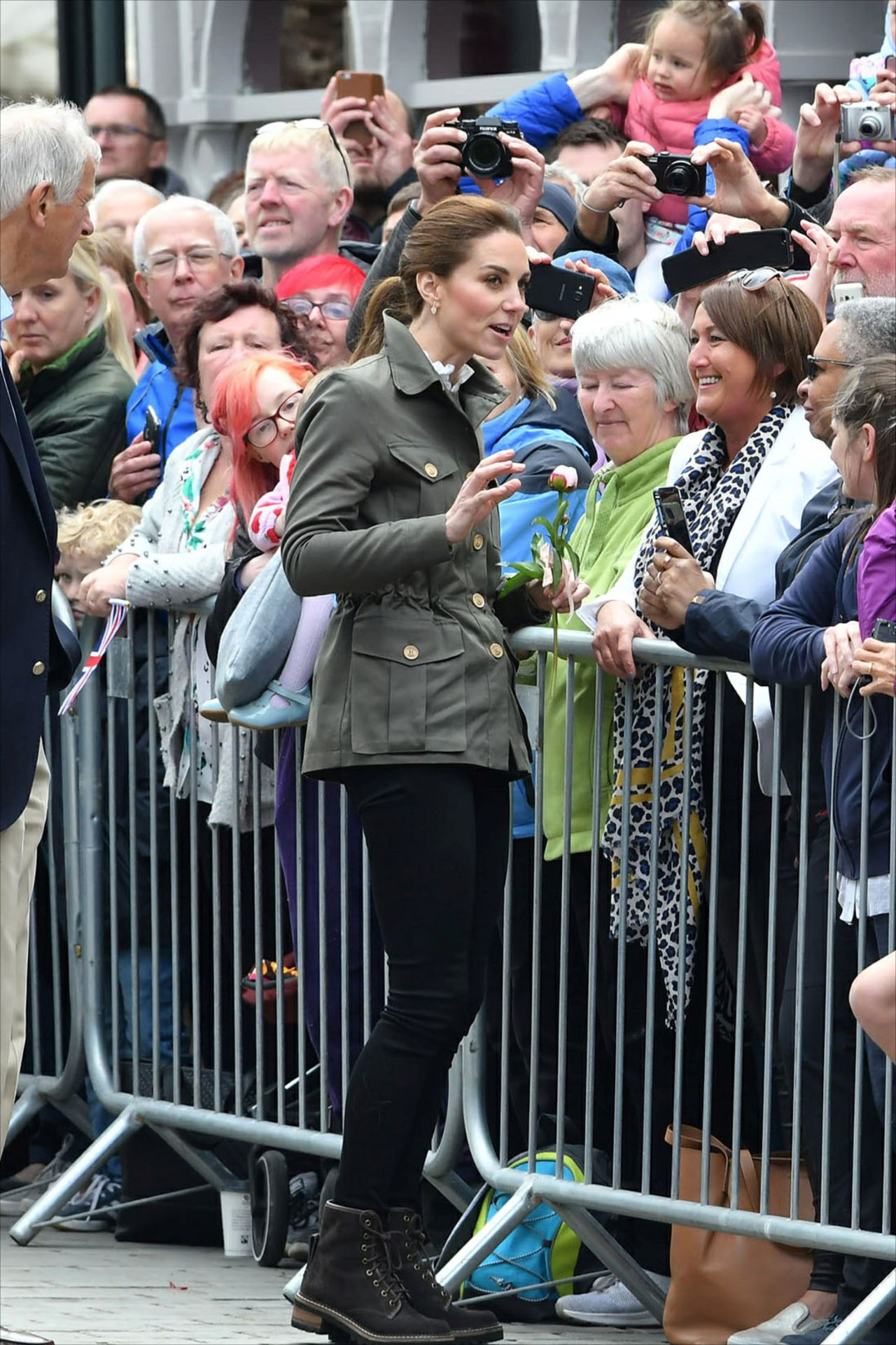 Kate Middleton Keswick Market Place At Cumbria In