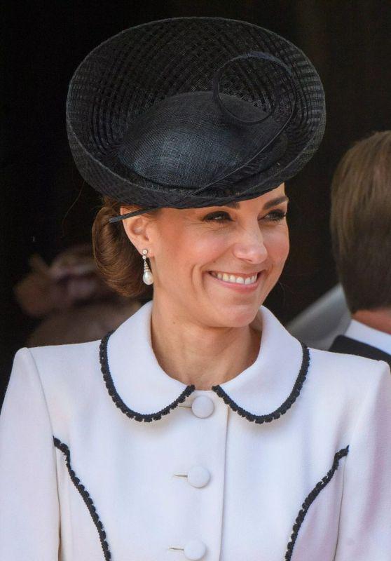 Kate Middleton - Order of the Garter Service in Windsor 06/17/2019