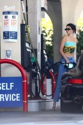 Kendall Jenner at a Gas Station in Beverly Hills 06/06/2019