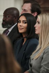 Kim Kardashian - Speaks During a Second Chance Hiring and Criminal Justice Reform Event in the East Room of the White House in Washington 06/13/2019