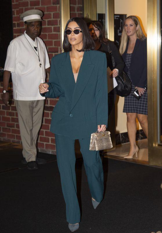 Kim Kardashian - White House in Washington DC 06/13/2019