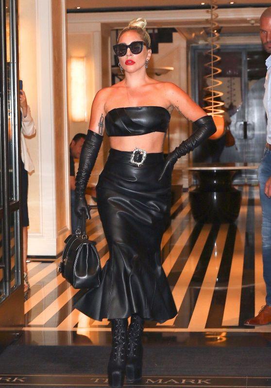 Lady Gaga Looks Stylish 06/24/2019