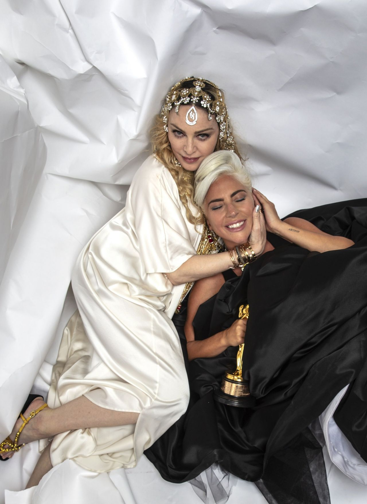 Lady Gaga Photoshoot For Madonna S Oscars After Party 2019