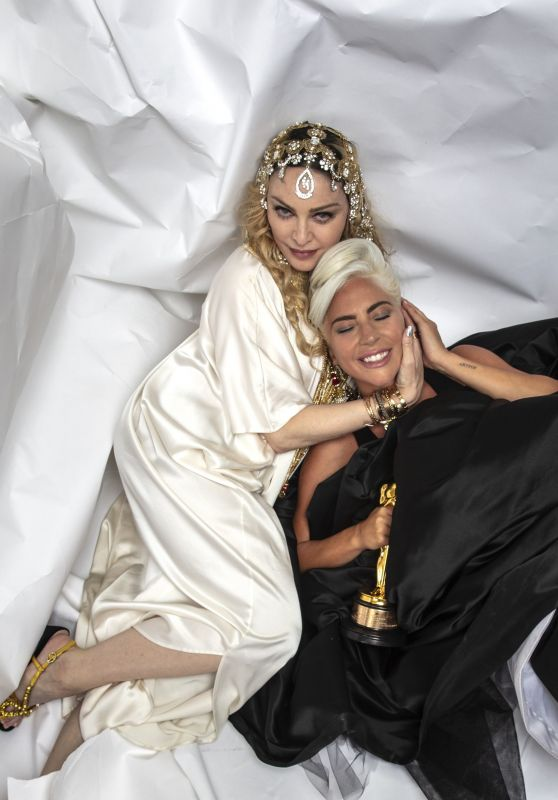 Lady Gaga - Photoshoot for Madonna's Oscars After Party 2019