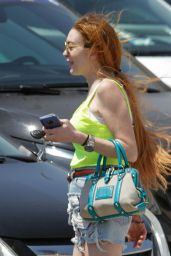Lindsay Lohan - Mykonos 06/27/2019
