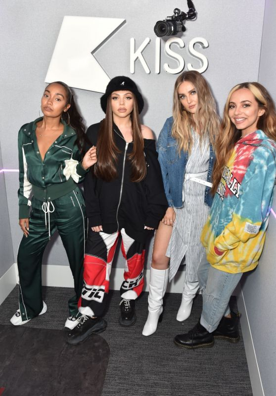 Little Mix at Kiss FM Studio