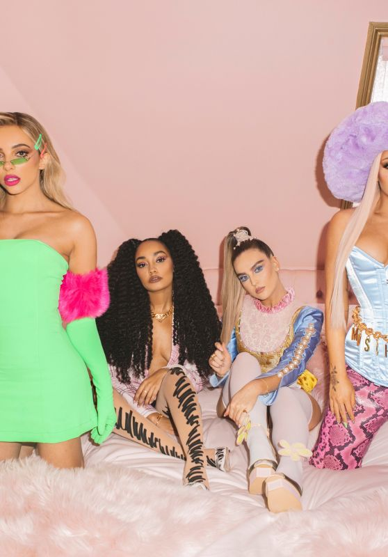 "Little Mix - ""Bounce Back"" Music Video Stills & BTS 2019"
