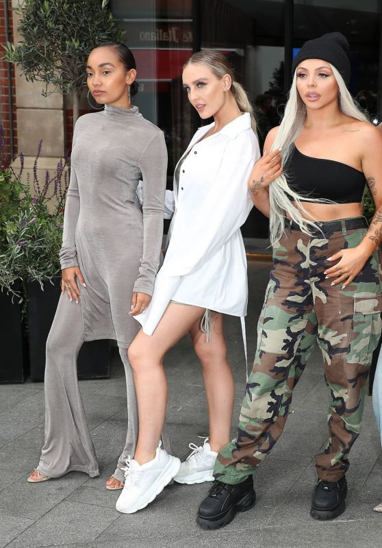 Little Mix - Global Radio Studios in London 06/14/2019
