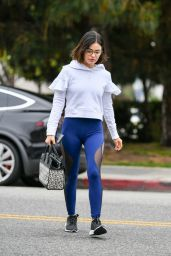 Lucy Hale in Spandex - Out in Studio City 06/26/2019