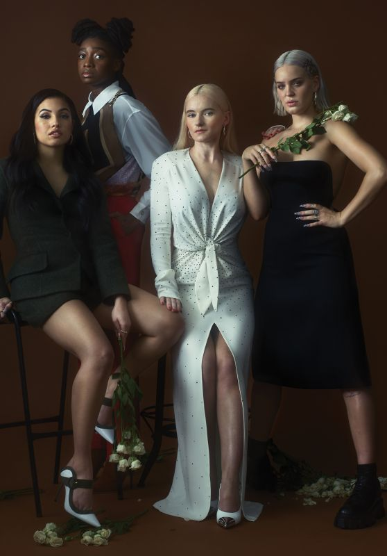 Mabel McVey, Little Simz, Grace Chatto and Anne-Marie - Photoshoot for V Magazine 2019