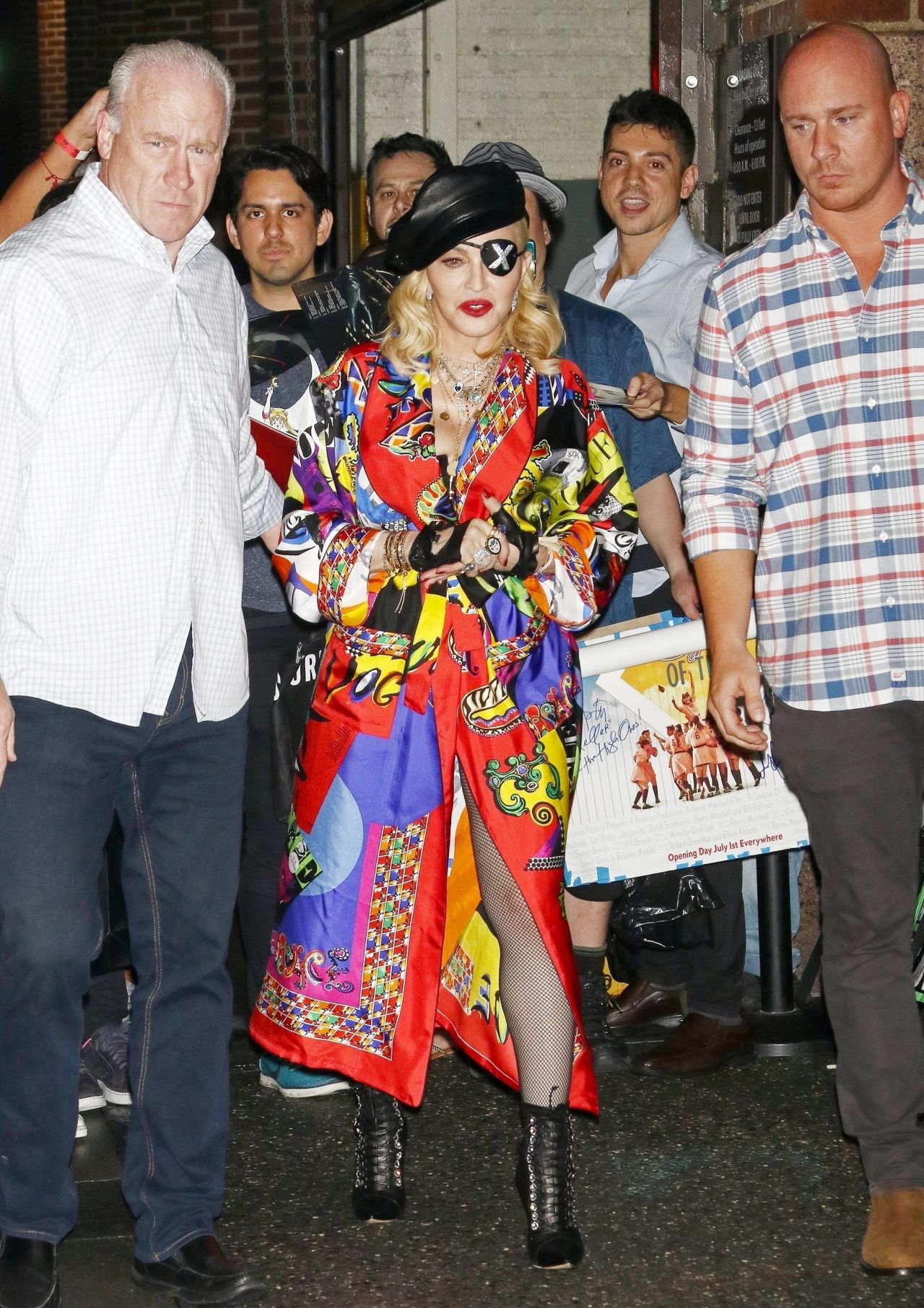 Madonna Promoting Her New Album Madame X In New York 06 20 2019