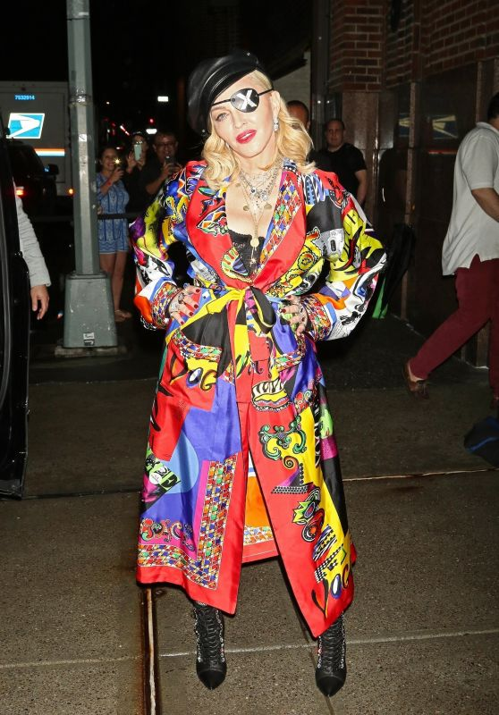 Madonna - Promoting Her New Album Madame X in New York 06/20/2019