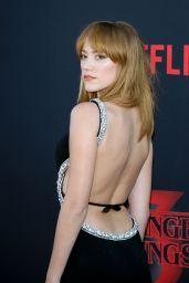 "Maika Monroe – ""Stranger Things 3"" Premiere in Santa Monica"