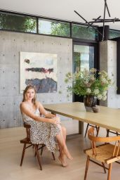 Maria Sharapova - Architectural Digest Magazine July/August 2019