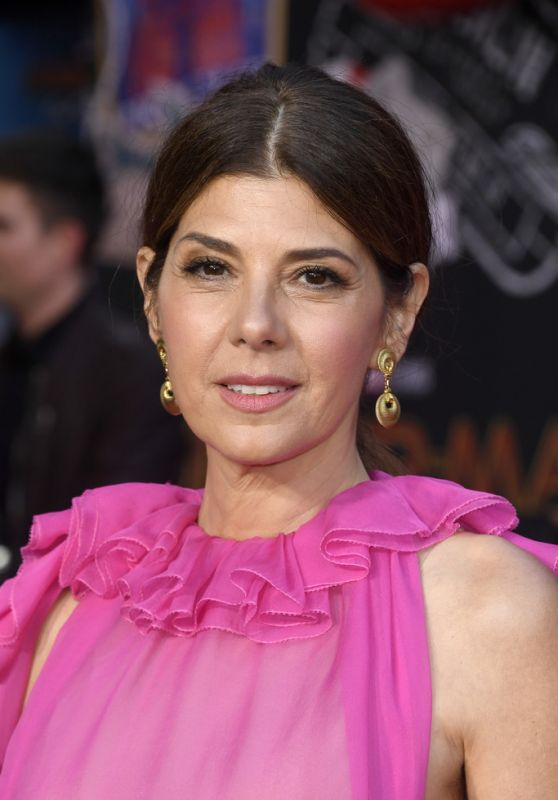 """Marisa Tomei – """"Spider-Man: Far From Home"""" Red Carpet in Hollywood"""