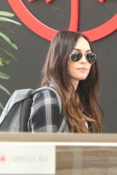 Megan Fox in Travel Outfit - Airport in Toronto 05/31/2019