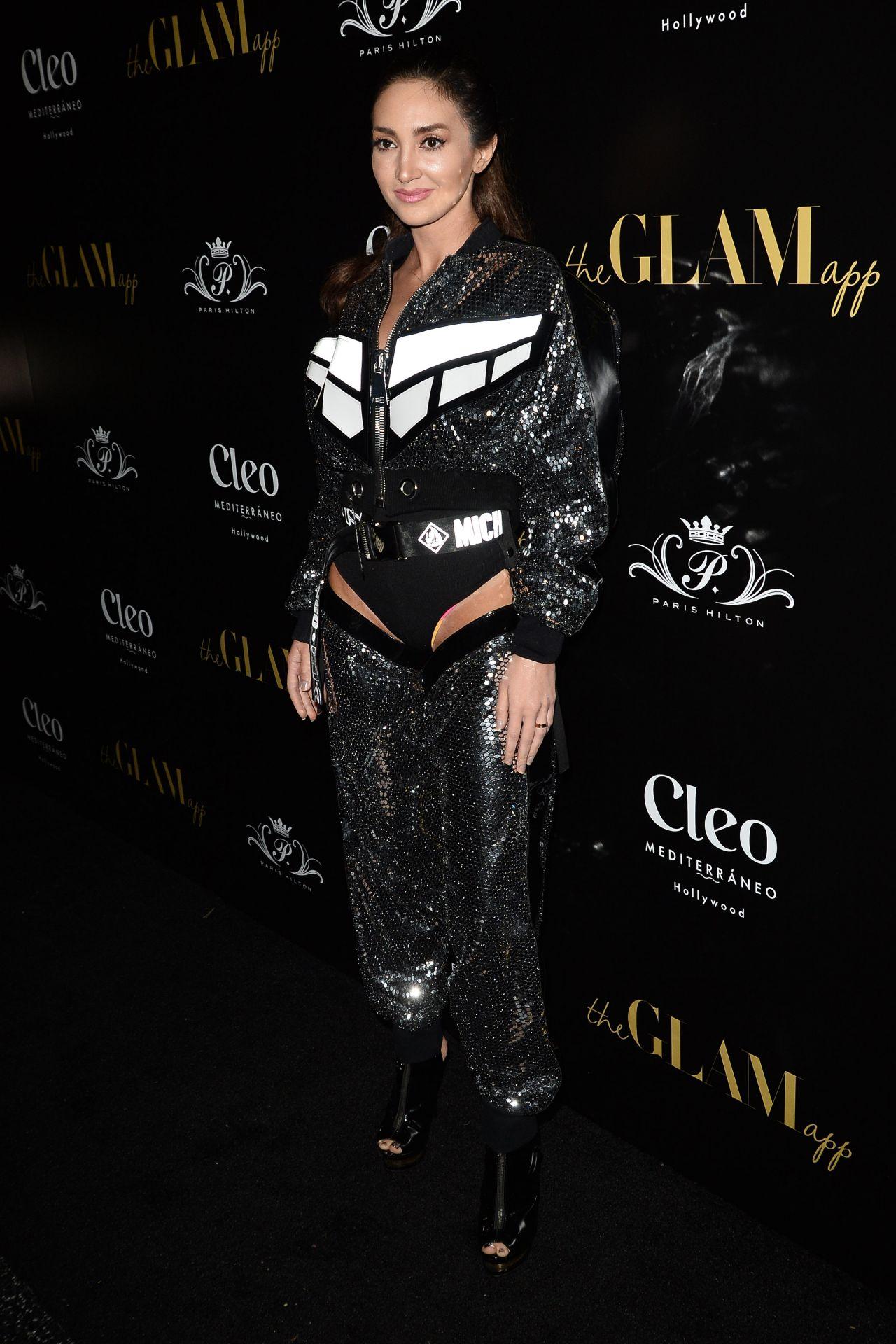 Megan Pormer The Glam App Launch In La 06 19 2019