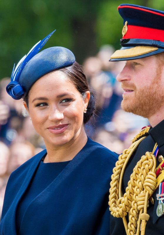 Meghan Markle and Prince Harry - Trooping the Colour