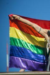 Melanie Chisholm - Performing at LGBT Parade in Sao Paulo 06/23/2019