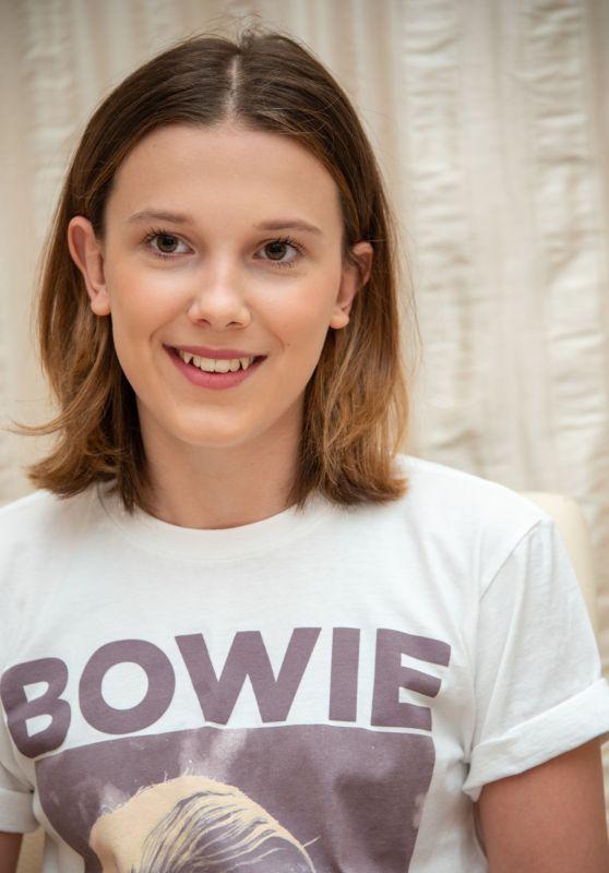 "Millie Bobby Brown - ""Stranger Things"" Set in Atlanta, May 2019"