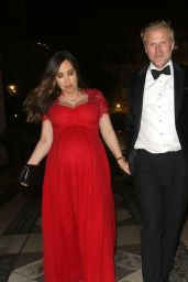 Myleene Klass - Royal Opera House Gala at the Guild Hall in London 06/12/2019