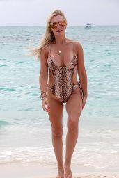 Naomi Isted in Bikini in the Caribbean 05/28/2019