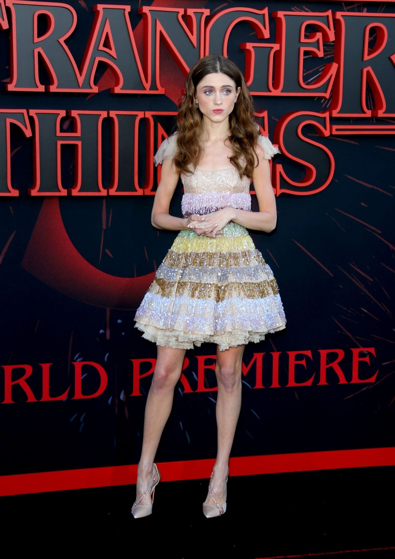 Natalia Dyer Quot Stranger Things Quot Season 3 Premiere In