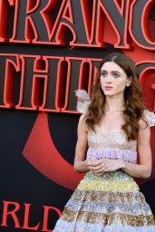 """Natalia Dyer – """"Stranger Things 3"""" Premiere in Santa Monica"""